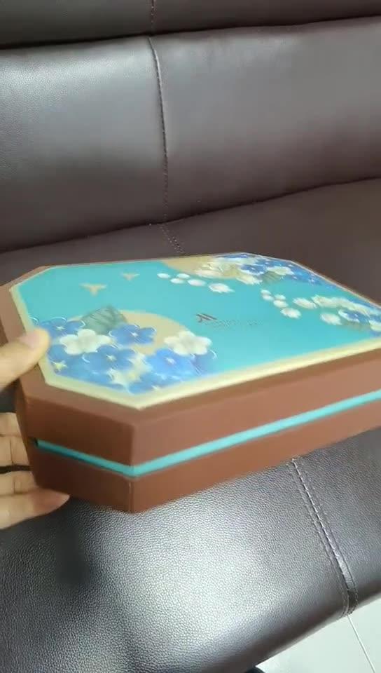 八边型月饼盒