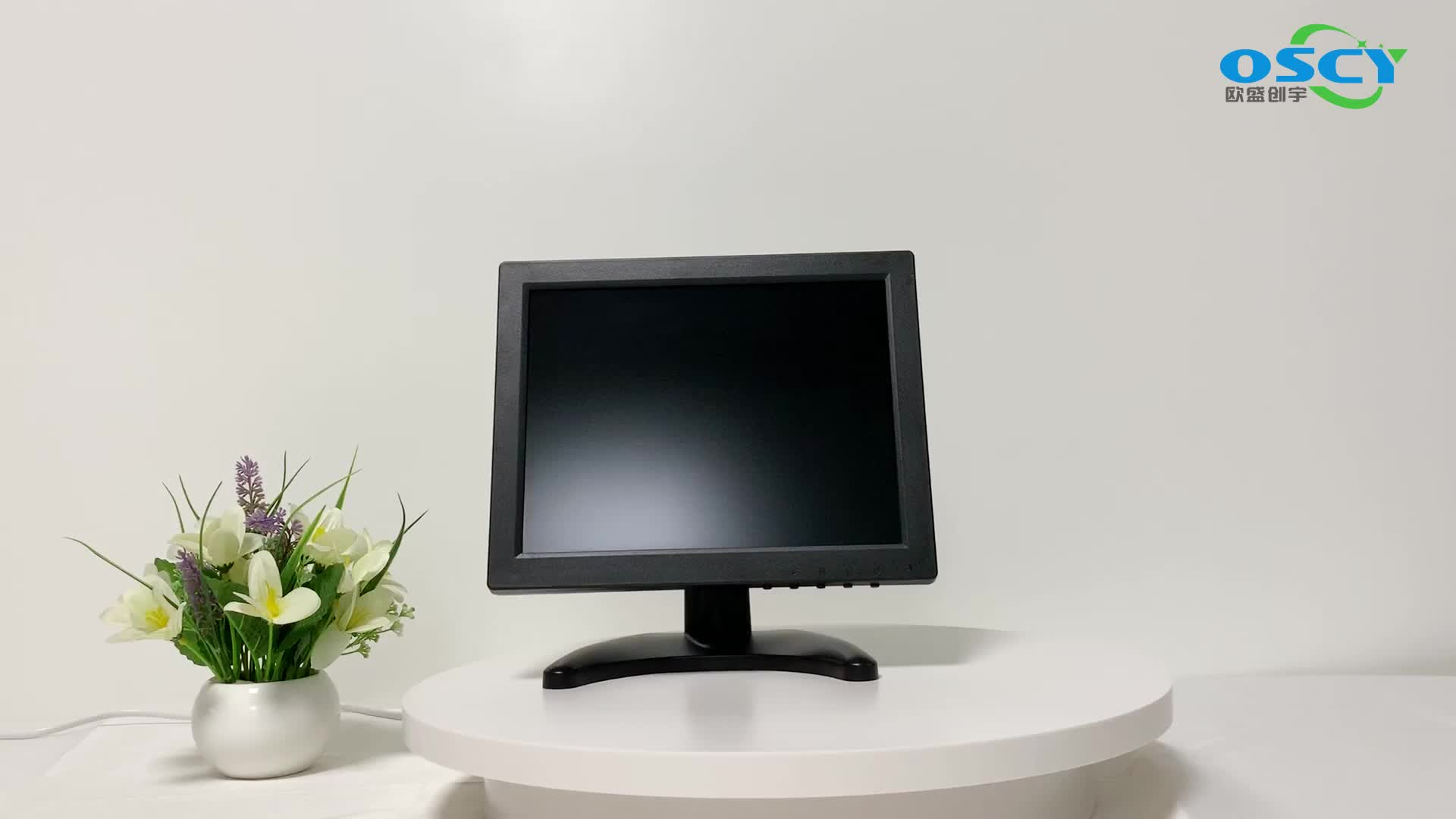 1024*768 Small Mount Computer Lcd Monitor With Rca Input
