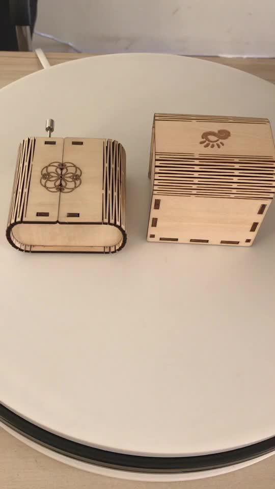 Direct Manufacturer wooden engraved music box mechanism