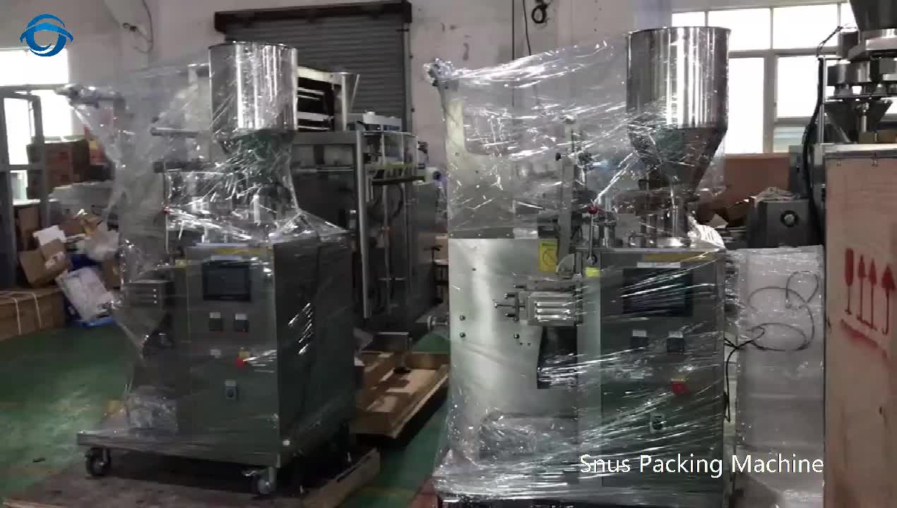 Pouch Wet Moist snuff snus tobacco Packing Machine