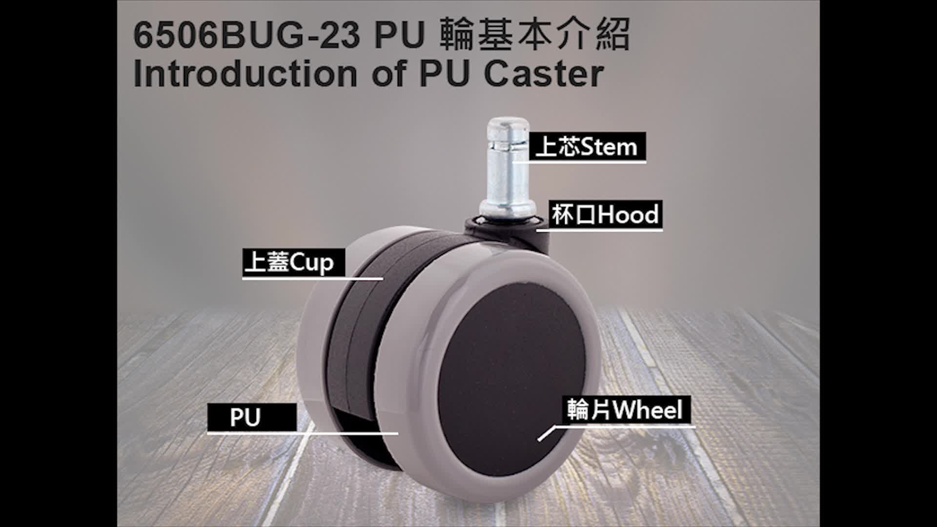 High quality pp caster hot sale & high quality