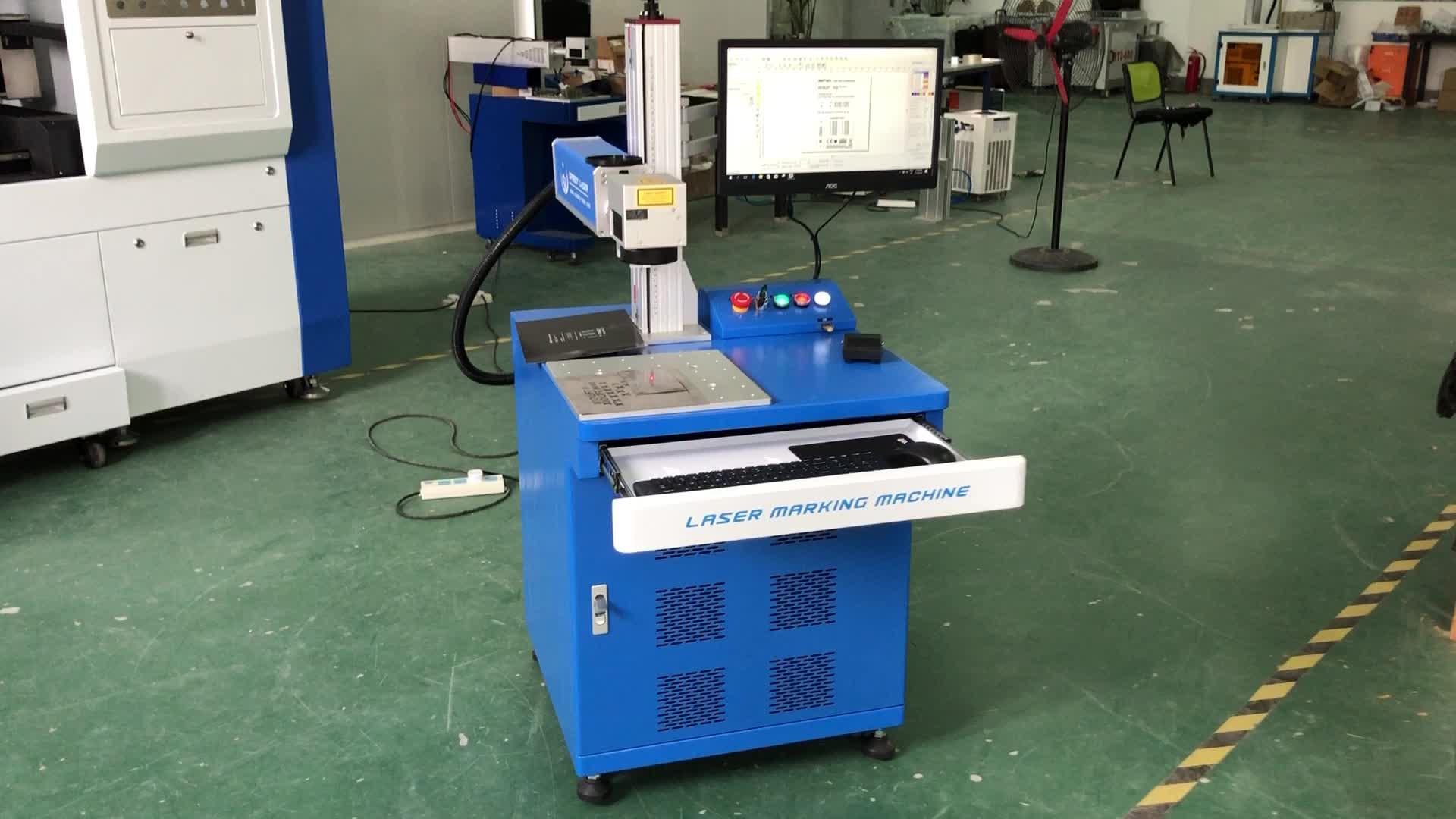 Raycus IPG 30W 50W 100W fibra laser di marcatura macchina 50W 100W macchina per incisione laser a fibra 50W 100W