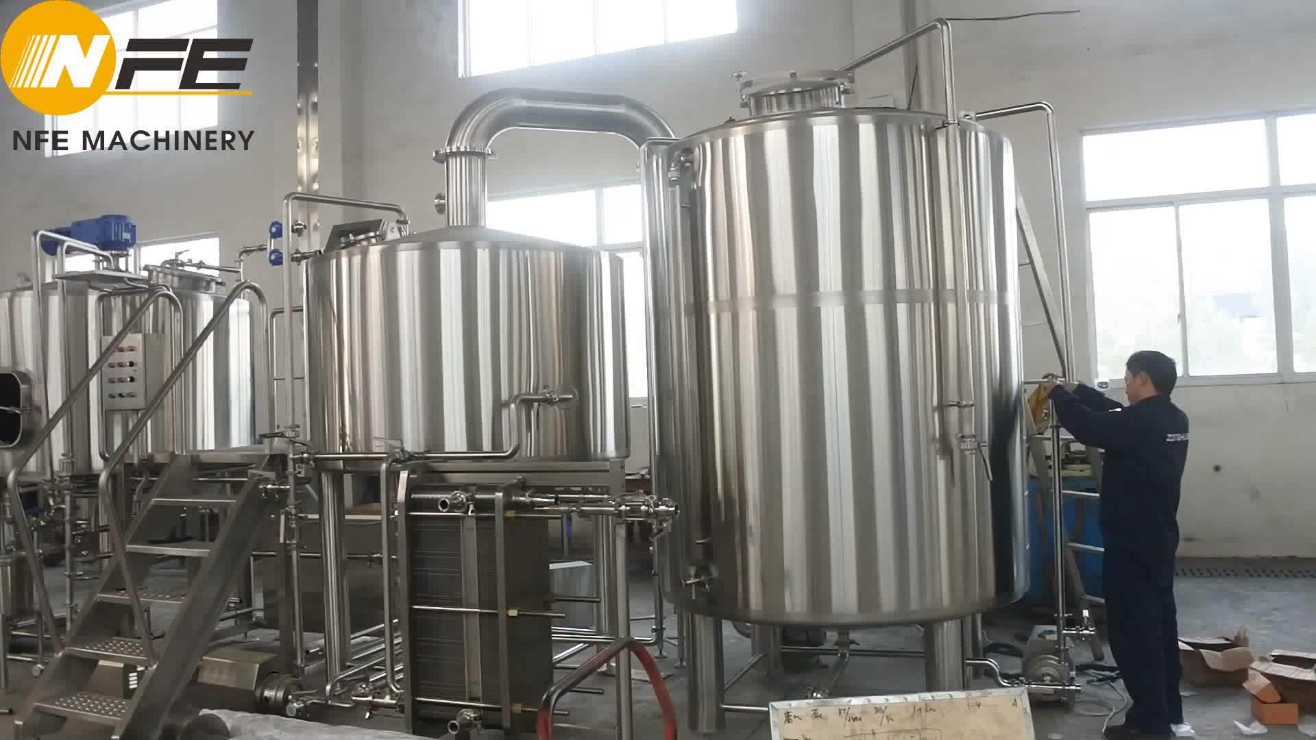 20bbl nhà máy bia brewhouse bia lên men thiết bị