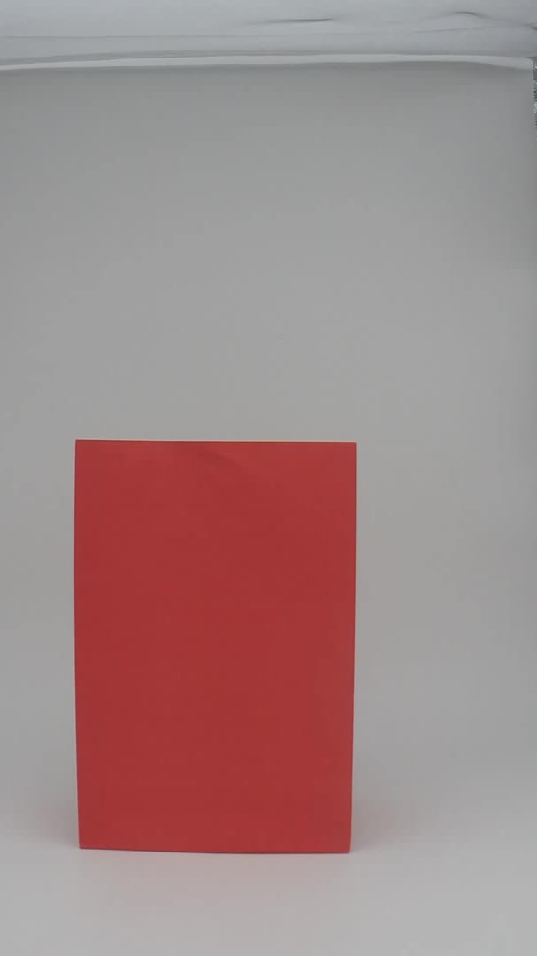 wholesale cheap recycled red kraft counter paper bag for food
