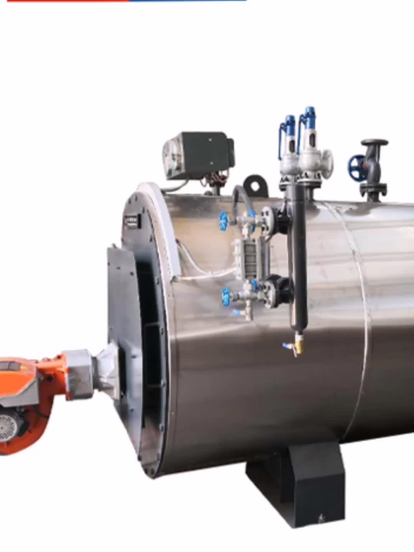 1 ton diesel Verwarming industriële stoomketel voor verkoop