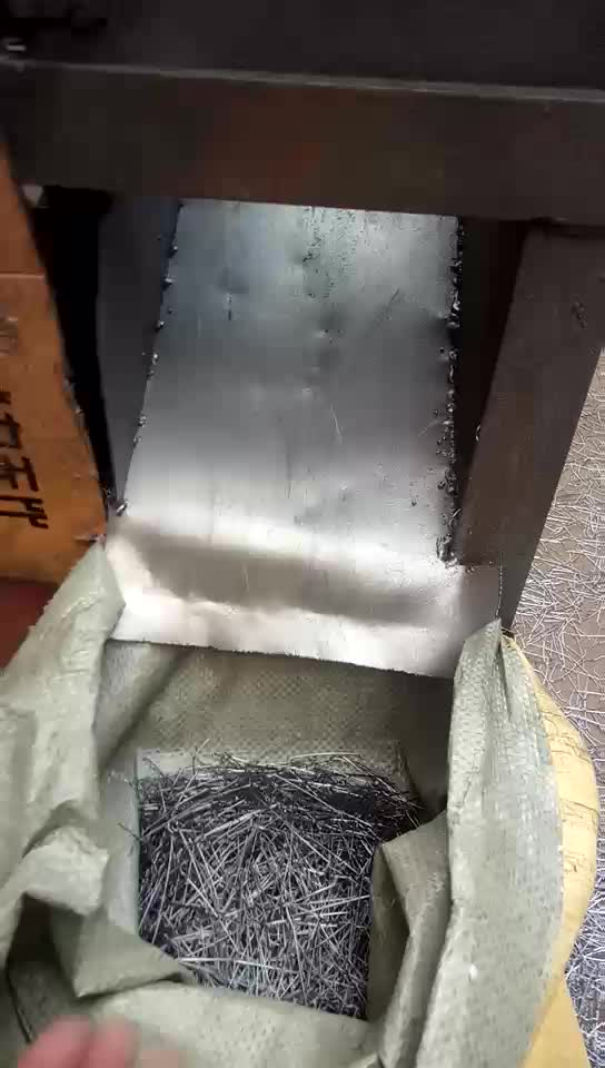 High Quality Real Estate Stainless Steel Concrete Fibers For Construction From Factory