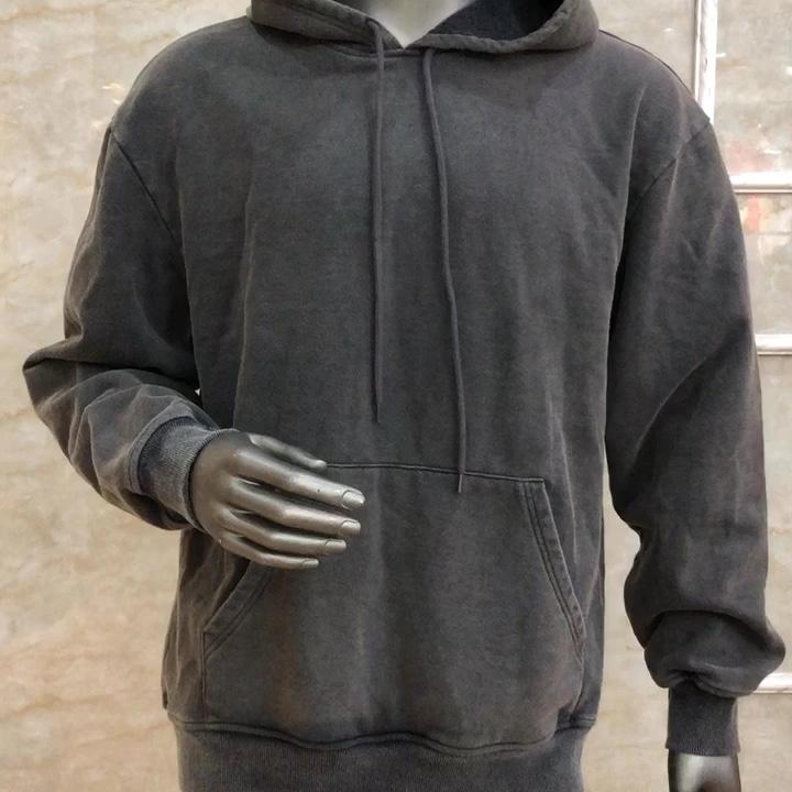 Оптовая продажа на заказ, высокое качество, пуловер с длинными рукавами, толстовка из 100% хлопка, толстовка с капюшоном для мужчин