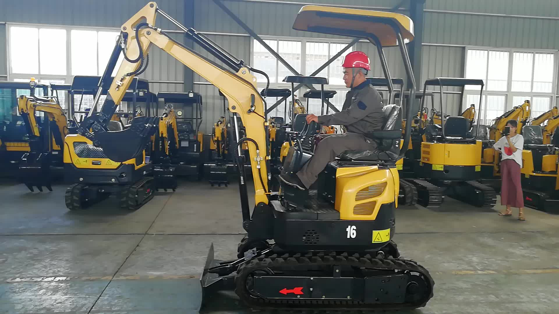1.6 tons mini excavator made in china