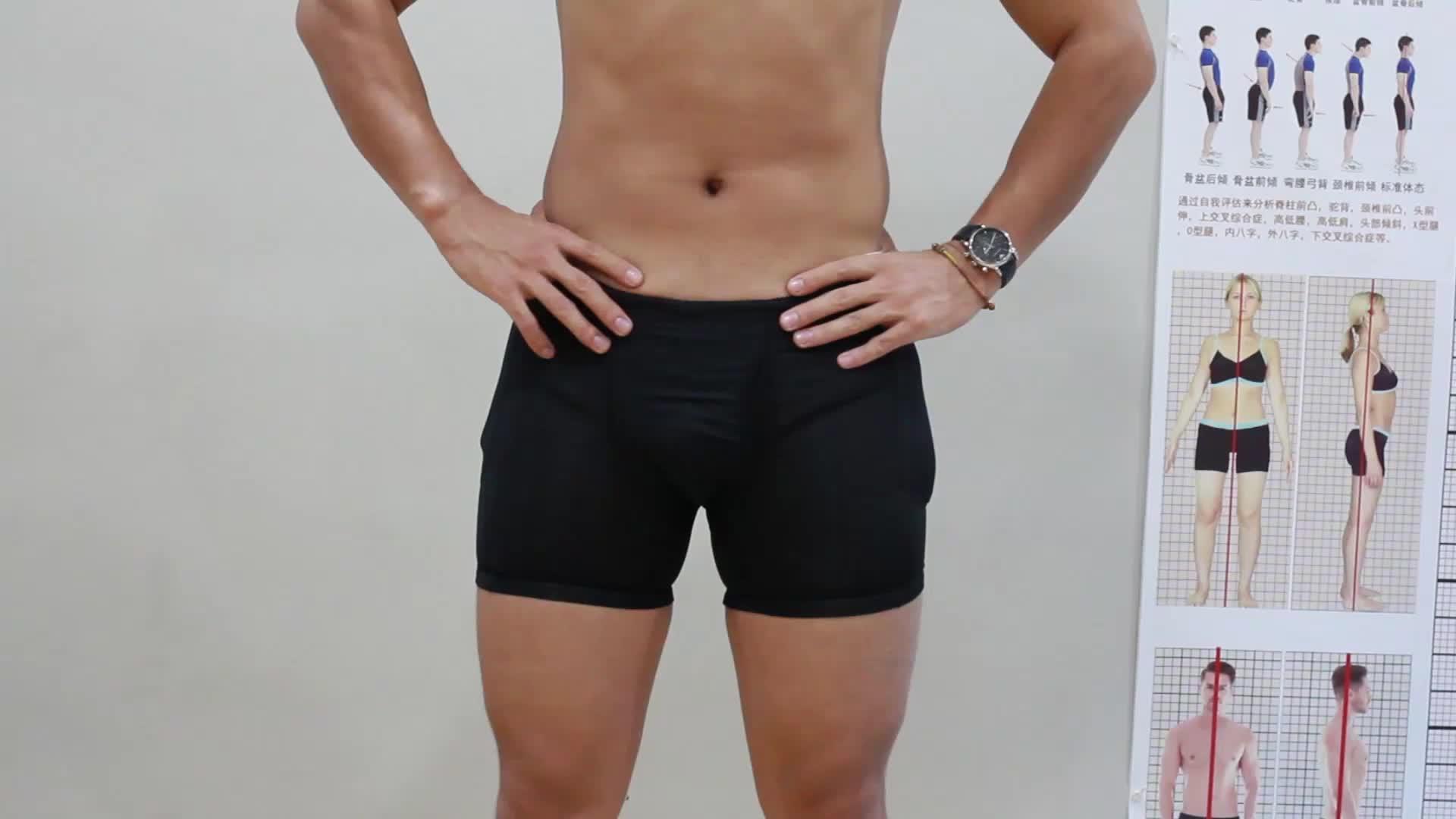 ขายร้อนไนล่อนชายชุดชั้นในเซ็กซี่ผู้ชายนักมวยและชุดชั้นในที่มี4แผ่น
