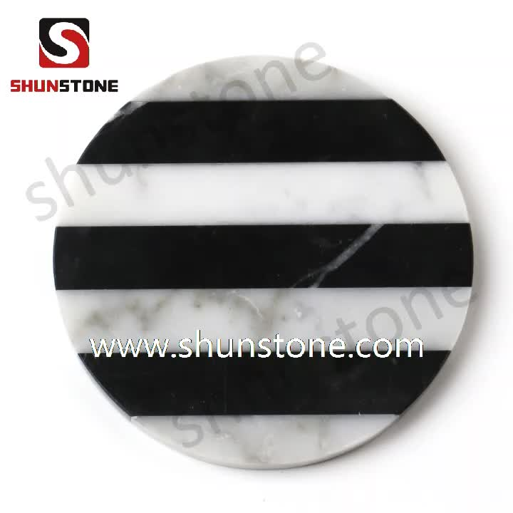 High Quality Artifical Marble Home Decorative Trays for Hotel