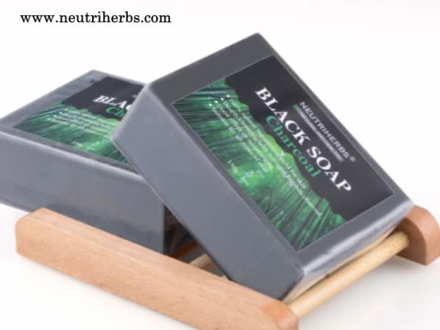 Kleine Menge Besten Lieferanten Aufhellung Steueröl Anti Akne Olivenöl Bambuskohle Schwarz Seife
