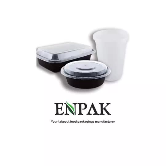 Various disposable 9 inch dishes and plates for restaurant