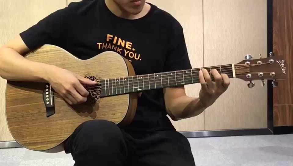 Deviser 36 אינץ אקוסטית נסיעות גיטרה
