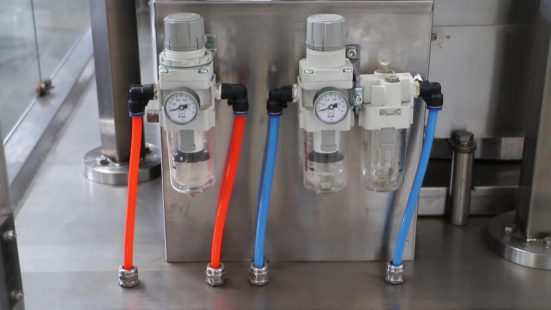 Linha de produção completa de máquinas de cancelamento de cerveja