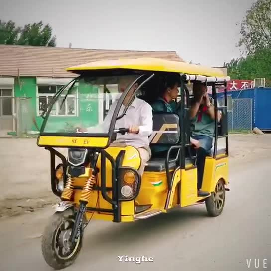 CKD shipment  indian bajaj CNG battery powered  electric tricycle auto rickshaw for sale