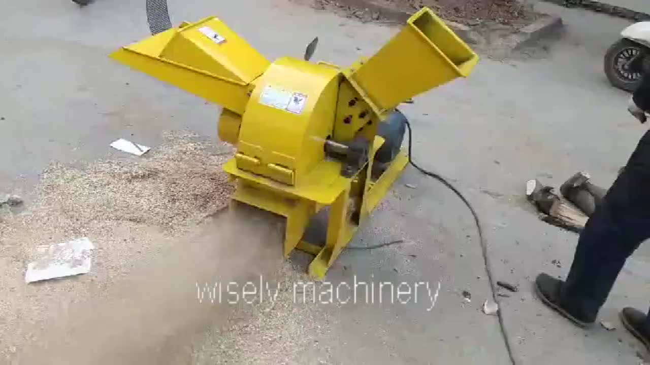 15hp Diesel Crusher Hout Shredder Machine Chipper