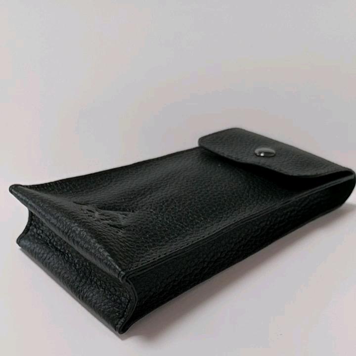 Simple Luxury Jewelry Storage Bags Bracelet Travel Leather Watch Pouch