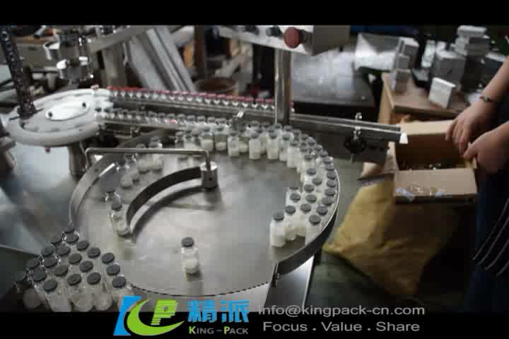 Fully automatic vial plastic bottle cap seal machine,vial crimping machine,caps capping vial machine