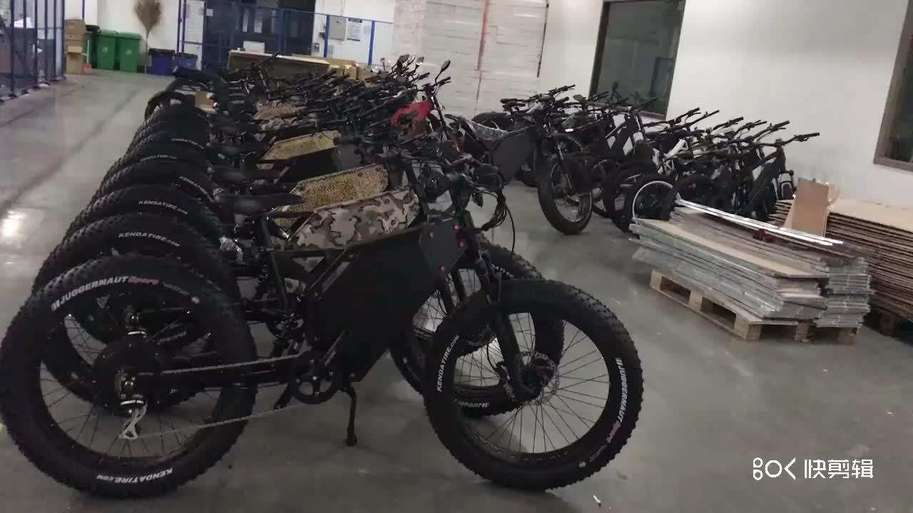 Changzhou Zhihong barato trasero motor sin escobillas 3000w enduro bicicleta eléctrica