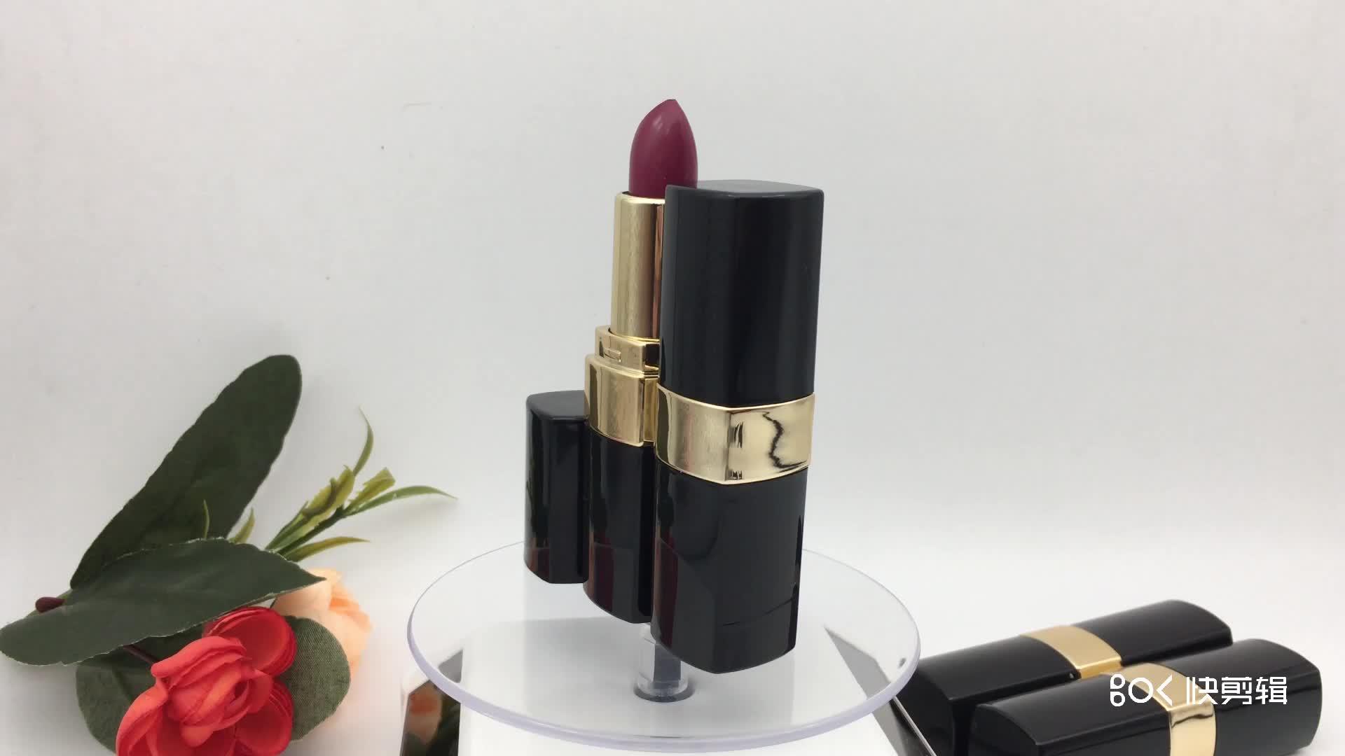 2019 heißer Verkauf Make-Up Feuchtigkeits Personalisierte Organische Verblassen-proof Lippenstift