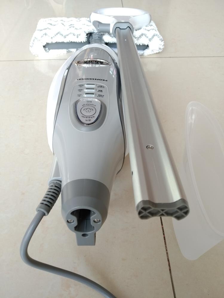 美国Shark鲨客P36电动蒸汽拖把开箱点评 高温除菌除螨 强力抓污