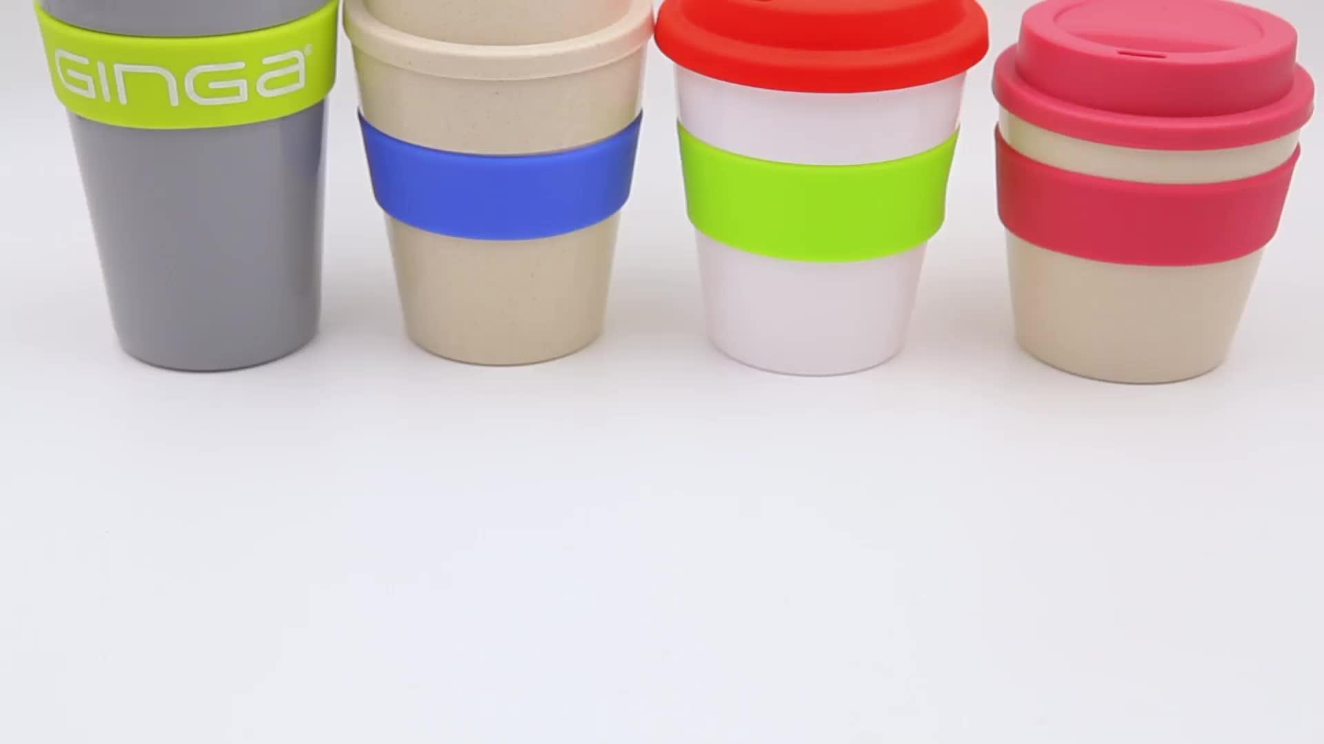 2020 새로운 디자인 핫 세일 친환경 대나무 섬유 커피 컵