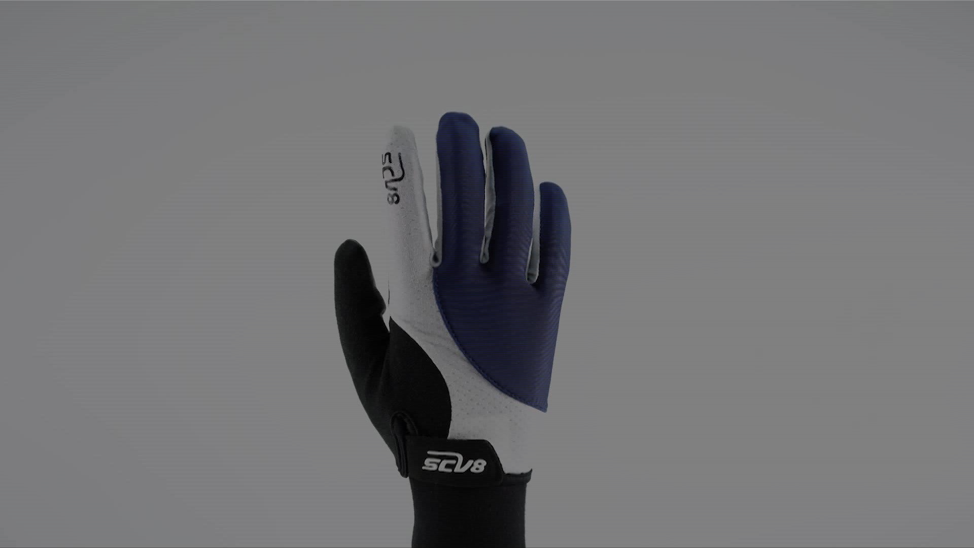 Anti-vibrazione downhill mountain bike guanti dito pieno