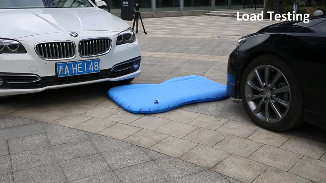 New Design Inflatable Sex Car Air Bed Floor Inflatable Fabric Air Car Bed Mattress with Queen Size