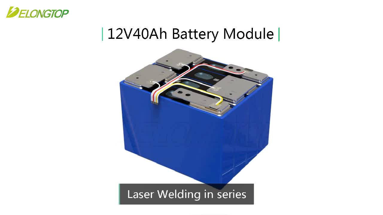 factory direct high capacity lithium iron phosphate lifepo4 battery 12v 40ah with bms