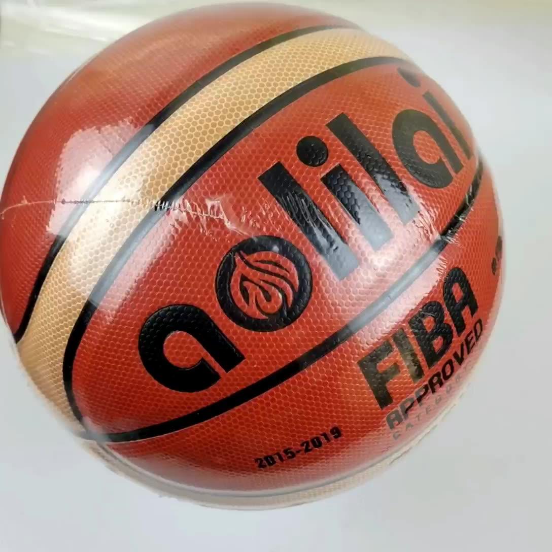 Basket Kulit PU GG7X GL6X GG6X GF6X Ukuran 6 Latihan Basket Grosir Kustom