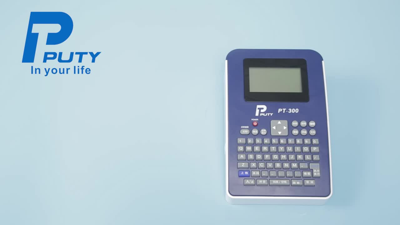 PT-3100P USB Handheld Thermal Transfer Label Printer for office home use