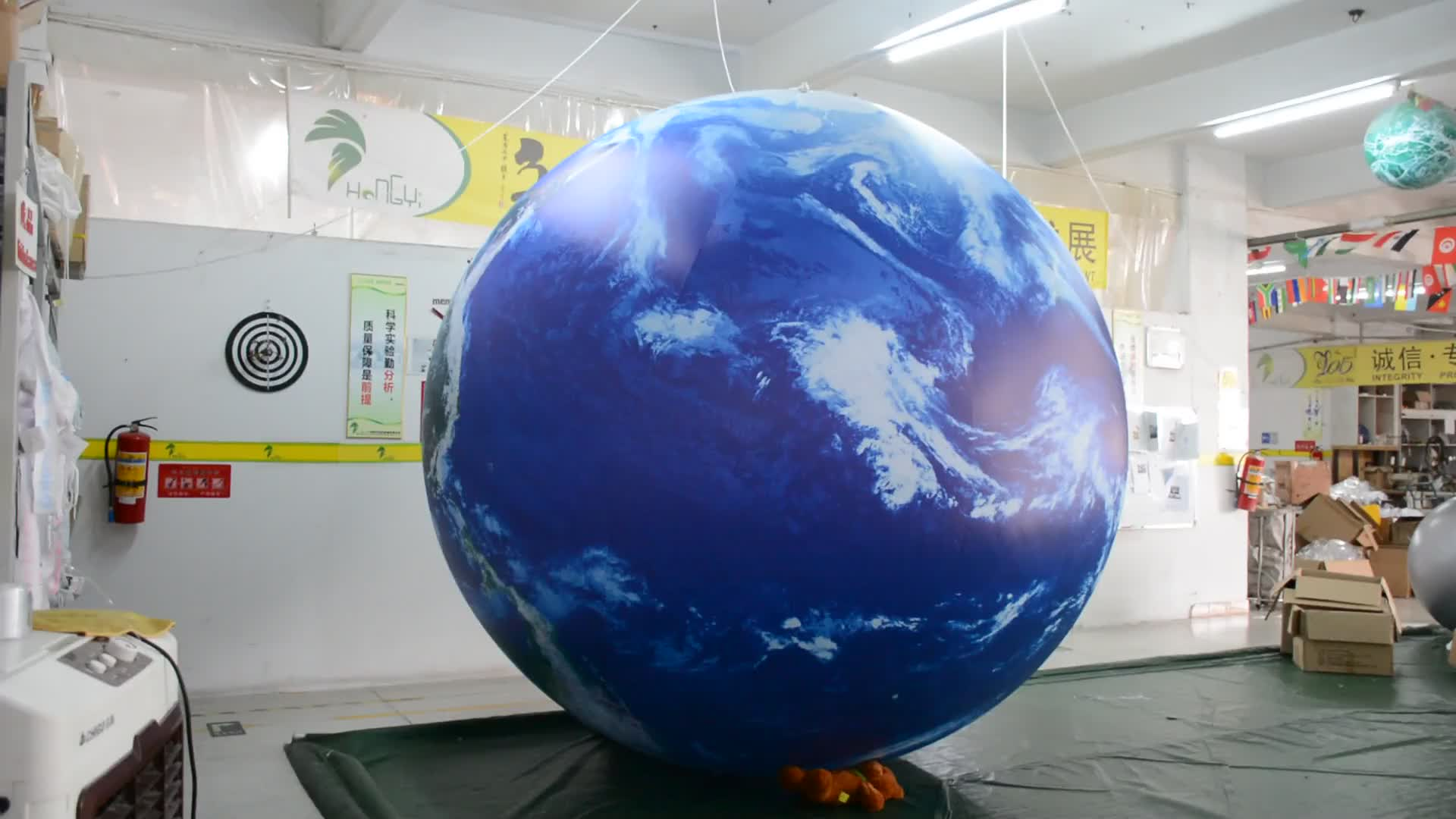 High Quality Inflatable Helium Moon Giant Inflatable Moon Balloon For Promotion
