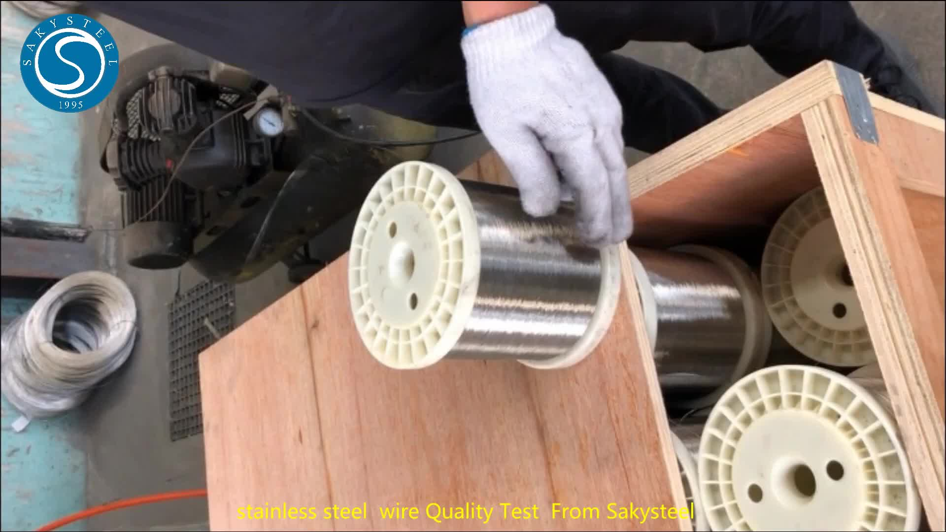 Fio de Aço Inoxidável calibre 16 304 316