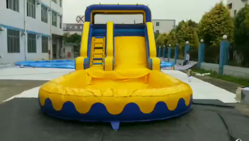 popular design professional supplier inflatable jumping slide