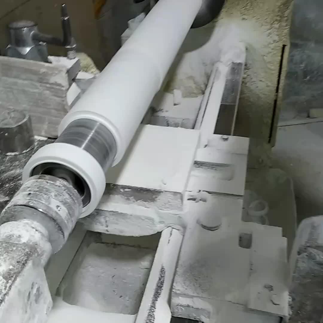 방열 반토 지르코니아 도자기 튜브 고온 알루미늄 산화물 세라믹 튜브 99% al2o3 용광로
