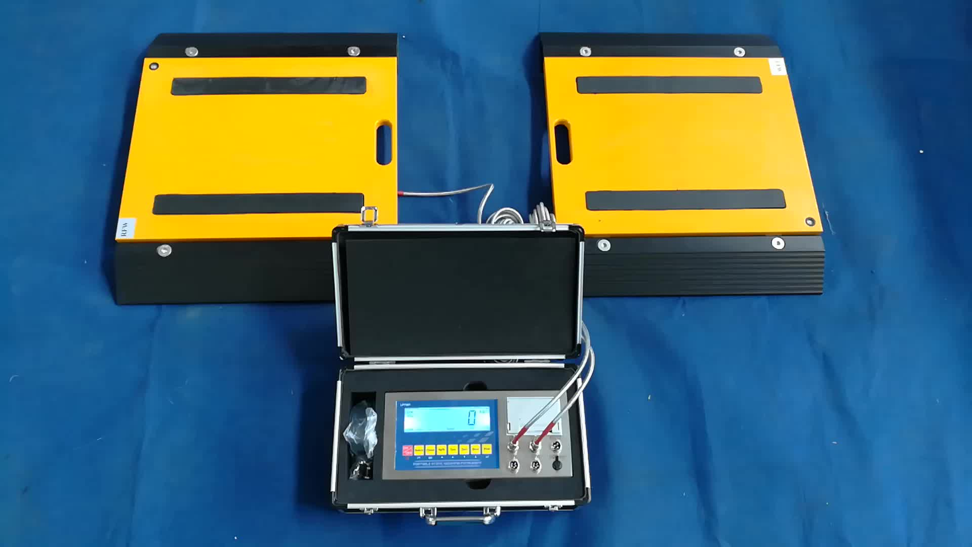 Customize Portable Axle Weigh Pad Van Weighing Scales