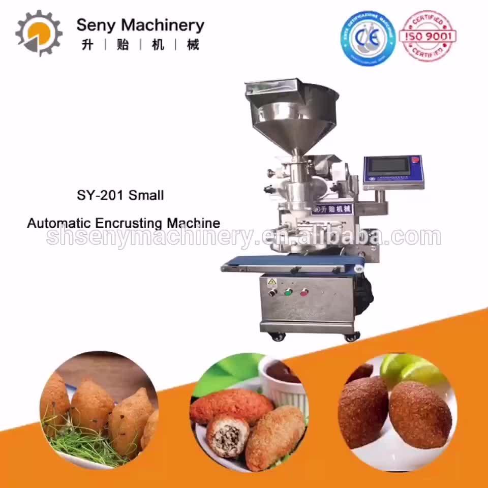 Internationale Voedselveiligheid Standaard Machine Vlees Bal Machine Encrusting En Vormmachine