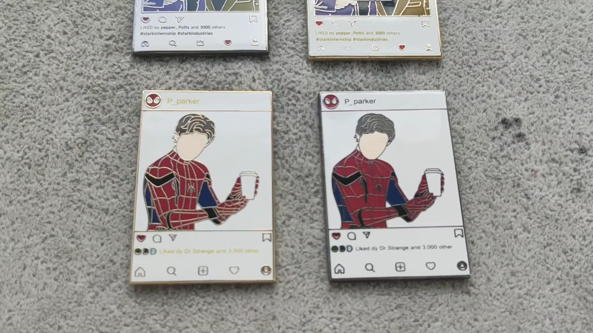 Different styles Kunshan factory custom hard enamel pin for sale