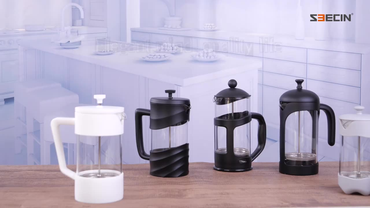 Easy to clean high quality french press  coffee maker