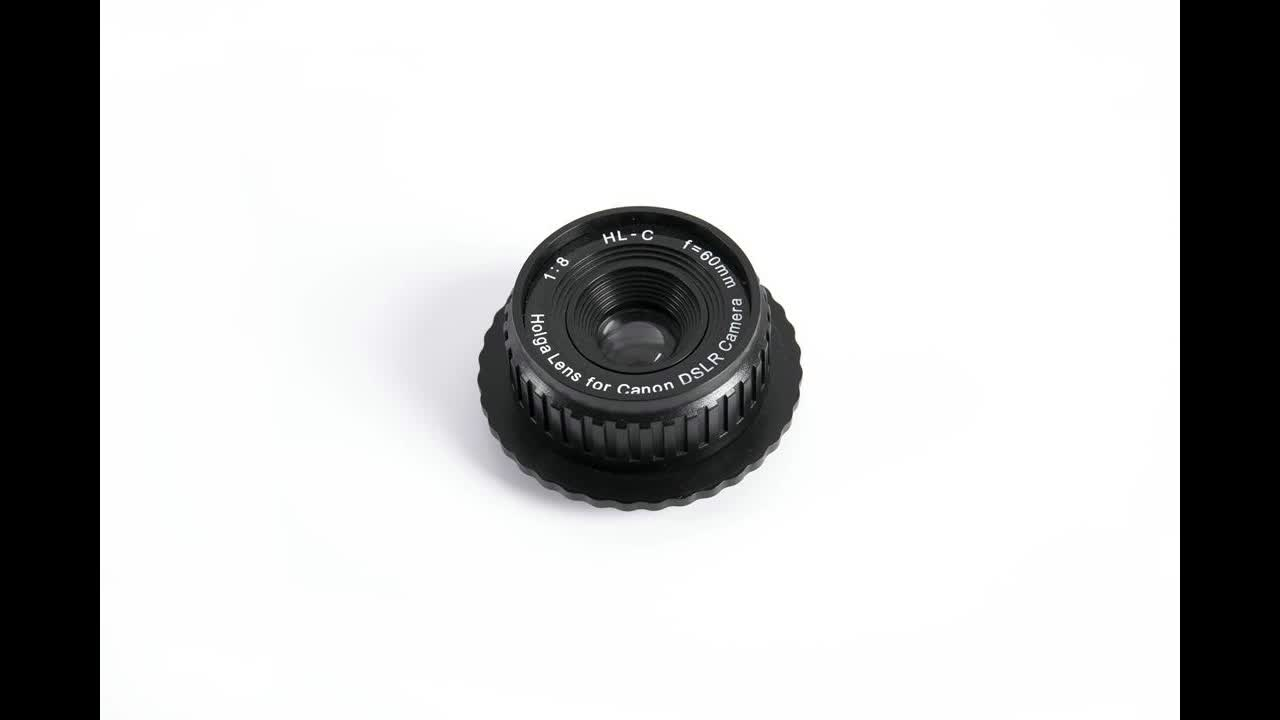 Holga New Products Wide Angle Fixed Focus Large Aperture Camera Lens For Canon Dslr