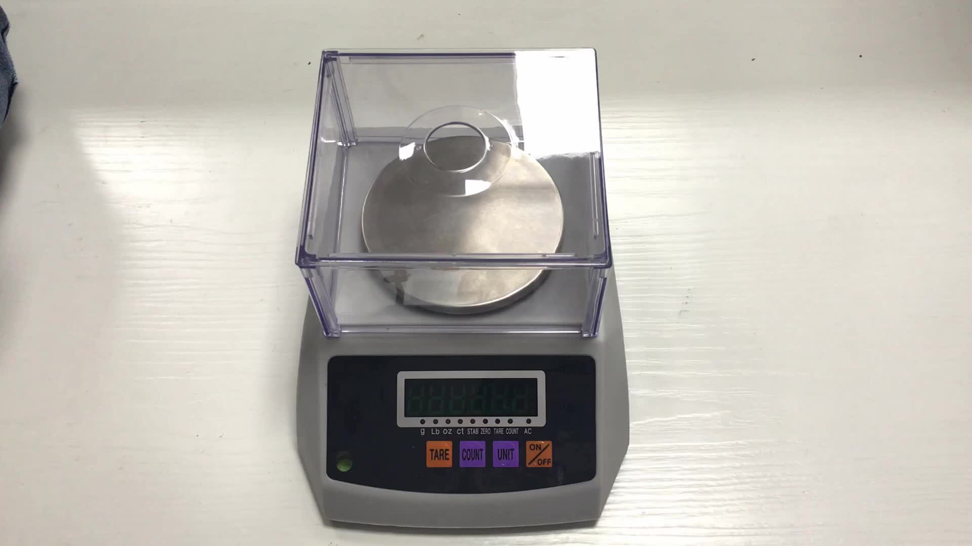 Laboratory Weighing Balance Scale With Green LED