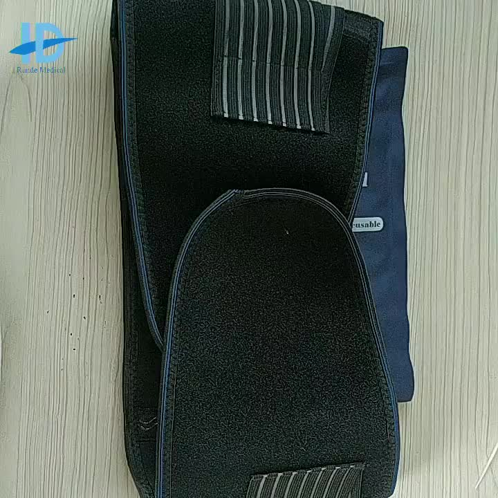 2021 Custom Service Full Adjustable Breathable Lower Spine Back Support Brace  Belt For Back Pain