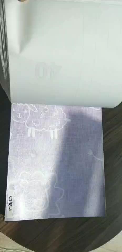 Yang Dapat Dilepas Tahan Air PVC Diri Perekat Kertas Dinding Gulungan