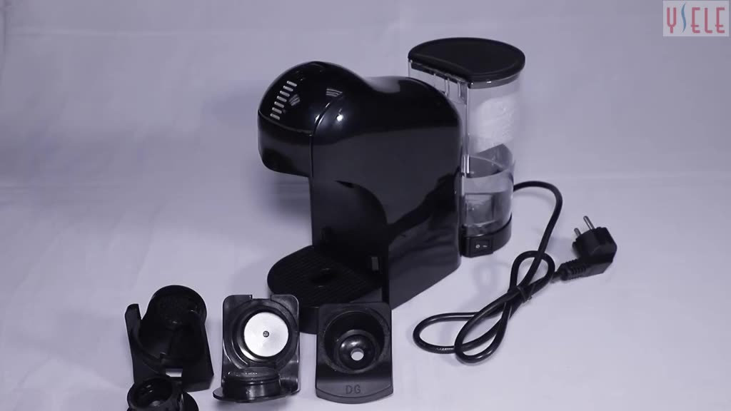 Special design 3 level cups setting Drawer-type capsule holder electric automatic dolce gusto capsule coffee machine