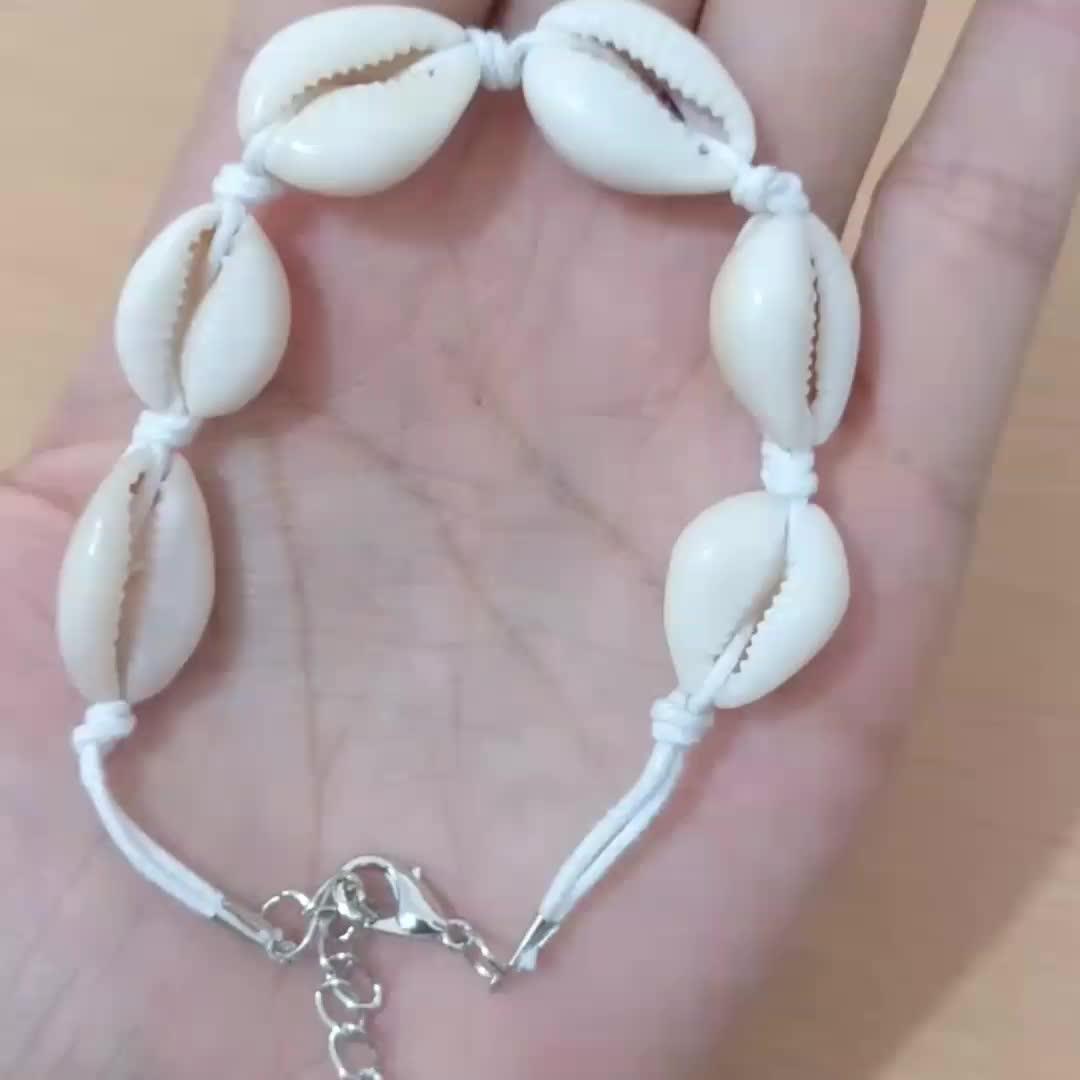 Fashion Personality Creative Hawaiian Style Casual Bracelets Jewelry Natural Sea Shell Hand Woven Bracelet