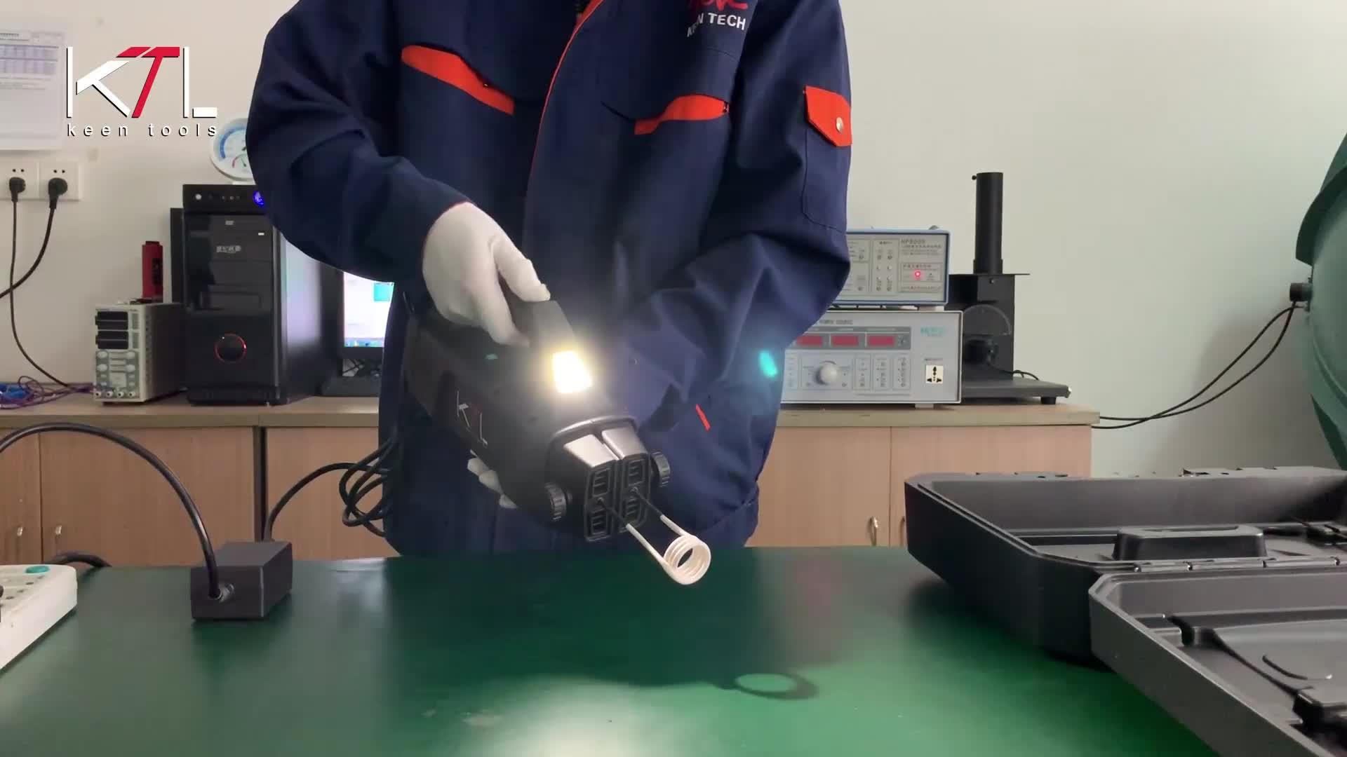 छोटे प्रेरण हीटर के साथ 1500w उच्च शक्ति बोल्ट और कीलक के लिए