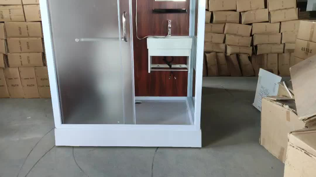 Modular Bathroom Pods Prefab Combination Toilet Shower Cabin