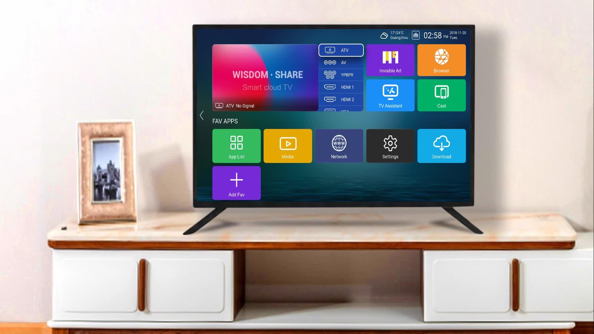 Haina 우수한 마더 보드 lcd led tv 예비 부품 텔레비전 wifi