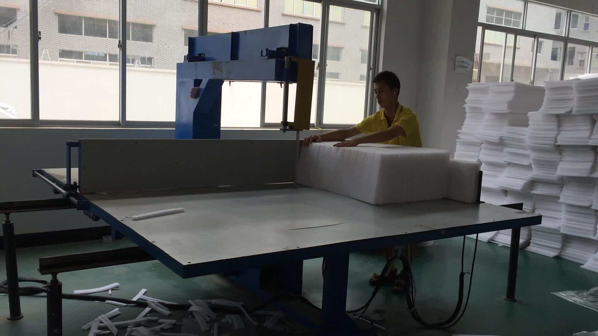 機製造垂直スポンジ発泡切断機