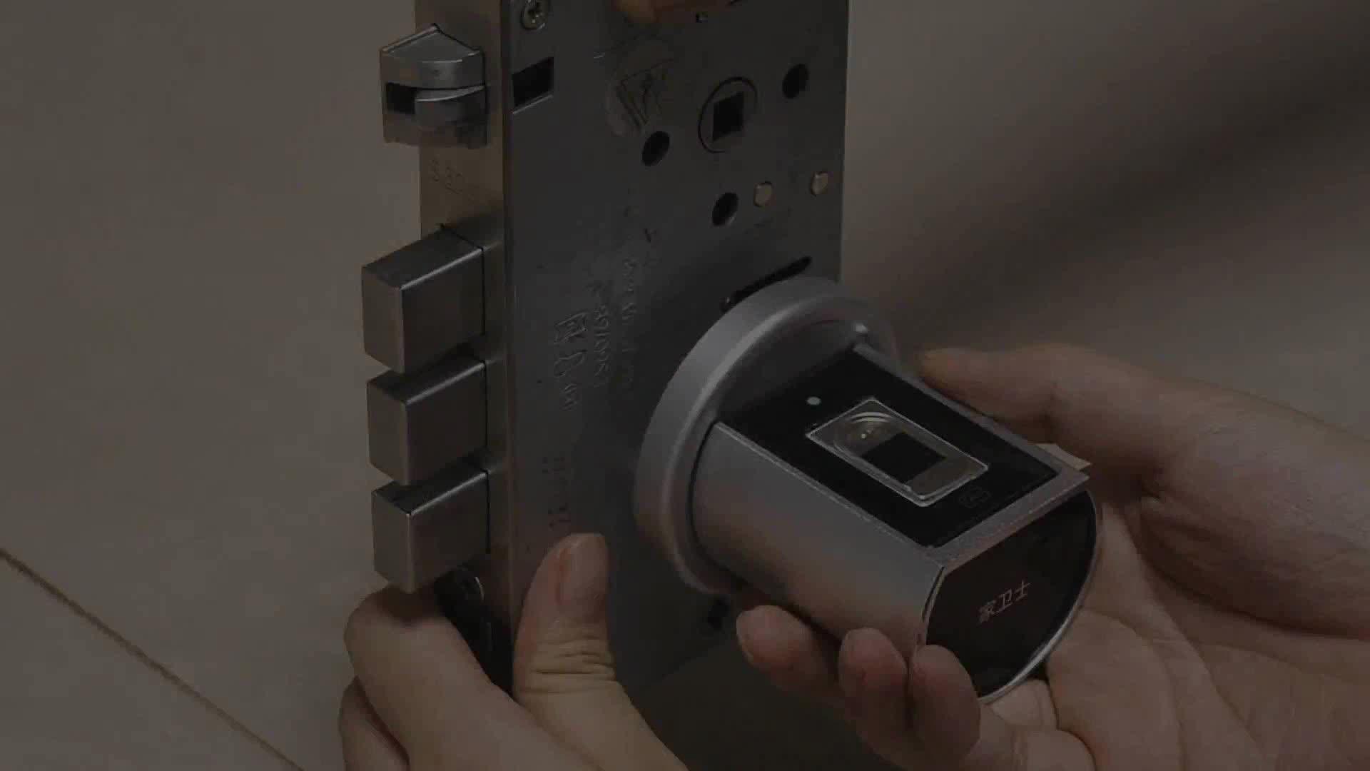 キーレス半導体指紋モジュールアプリ RFID カードロックシリンダー自動ドアロックシステムホーム